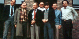 ESB Council Meeting, Leuven, 1978. Dr. Günther Heimke is the 4th from the left standing next to Prof. Paul Ducheyne (5th from the left).